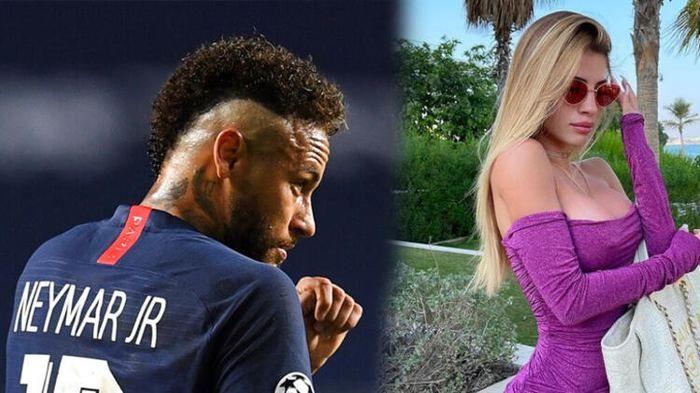 Neymar'ı peşinden koşturan güzel! Neymar ilişki için her yolu deniyor! - Sayfa 1