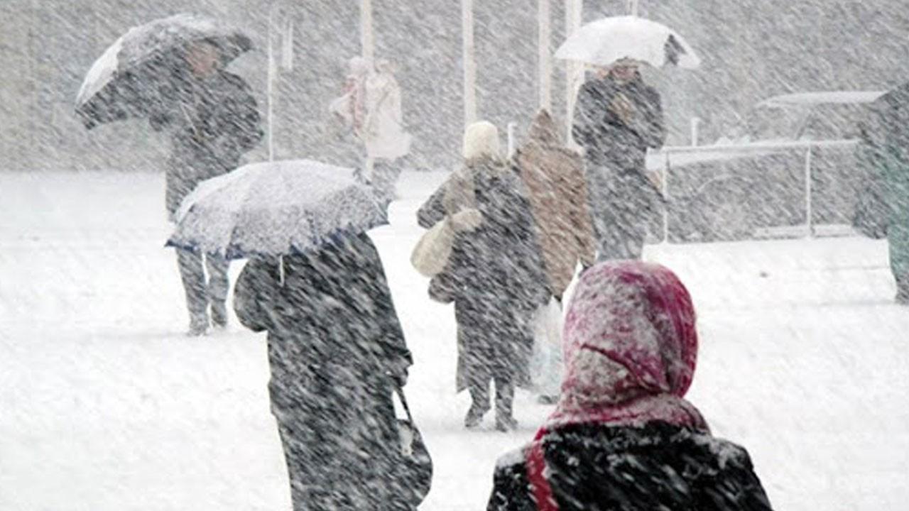 Meteoroloji uyardı! Yoğun kar yağışı alarmı