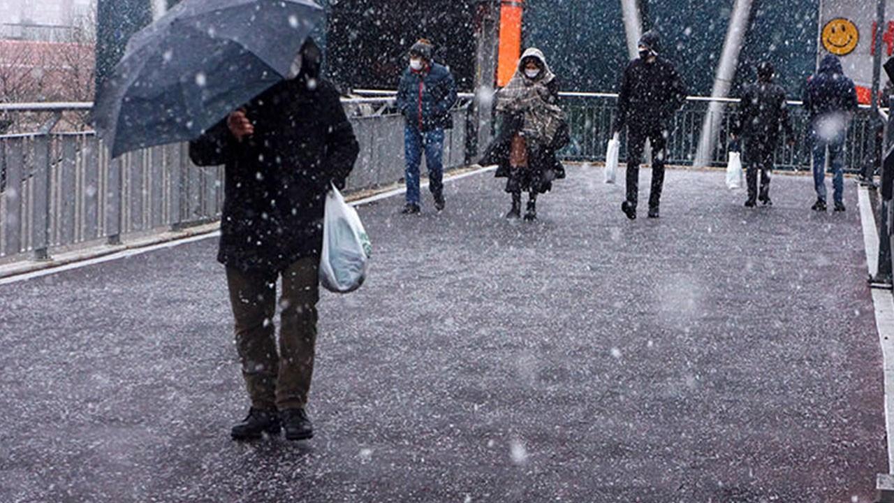 Meteoroloji kar yağışı tahminini değiştirdi!