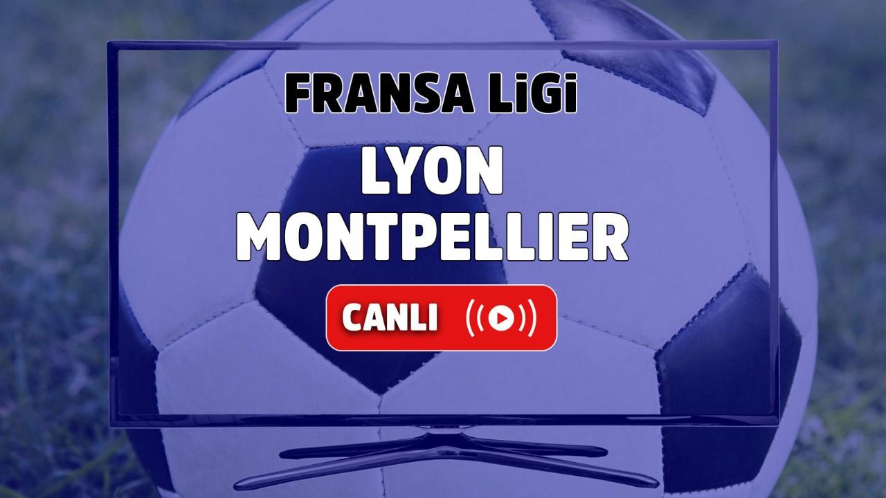 Lyon - Montpellier Canlı