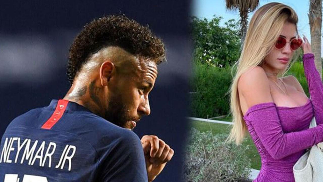 Neymar'ı peşinden koşturan güzel! Her yolu deniyor