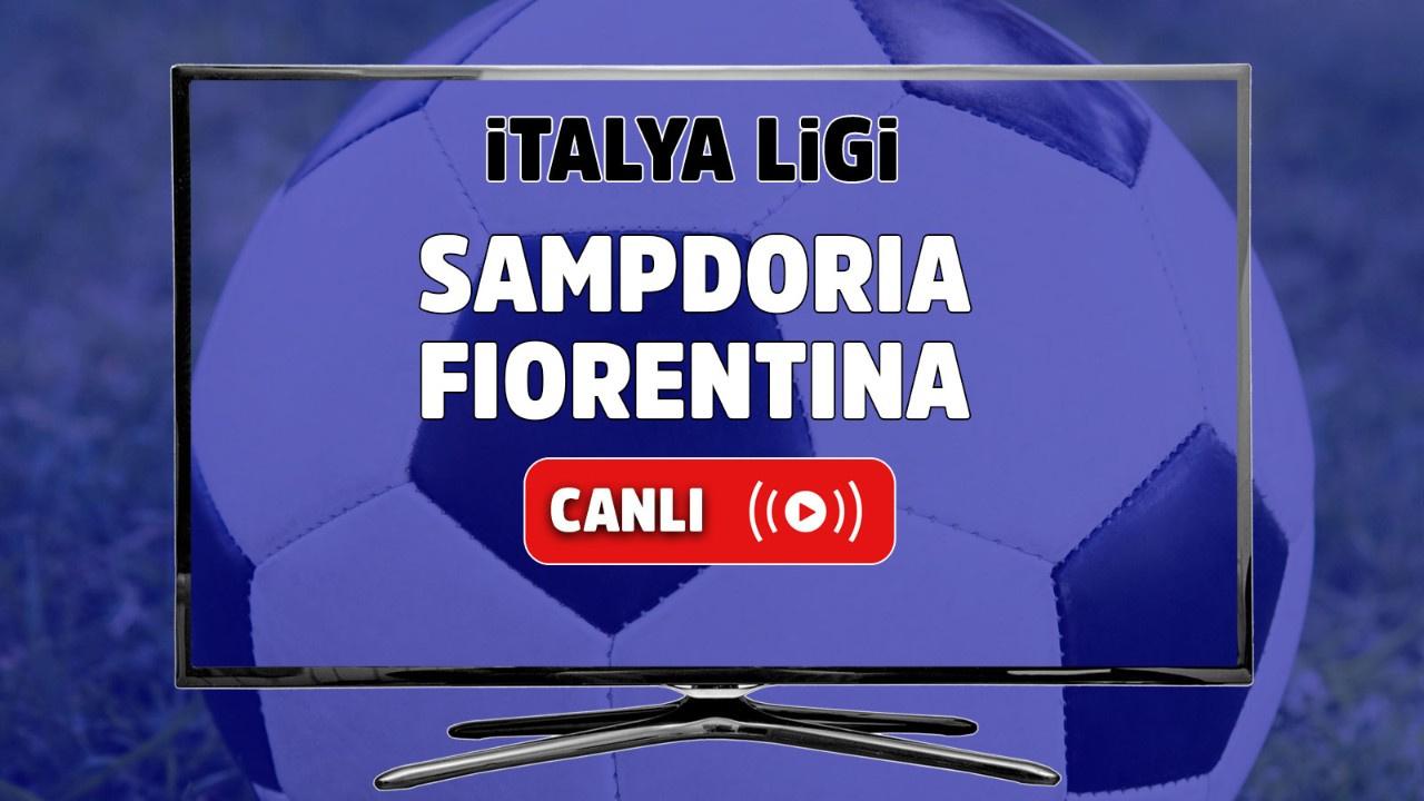 Sampdoria - Fiorentina Canlı