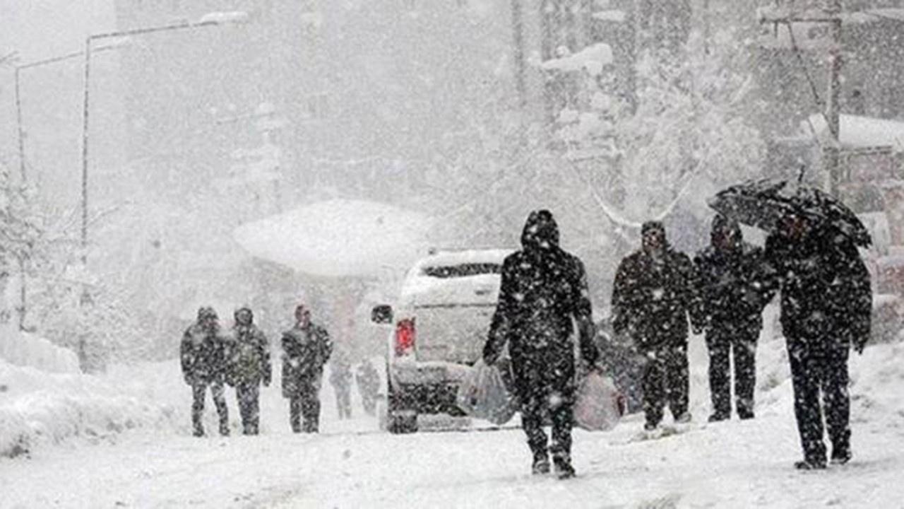 Yüz yüze eğitime 1 gün kar ertelemesi