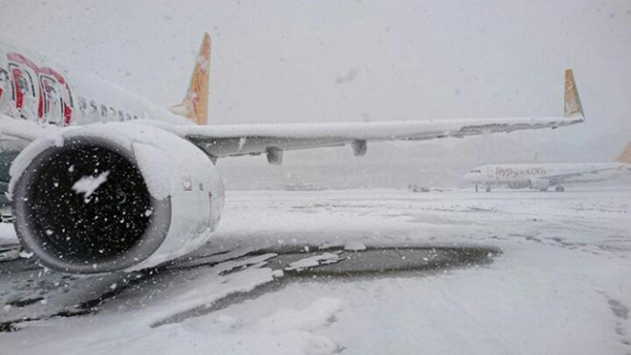 Sabiha Gökçen uçuşlarına kar düzenlemesi