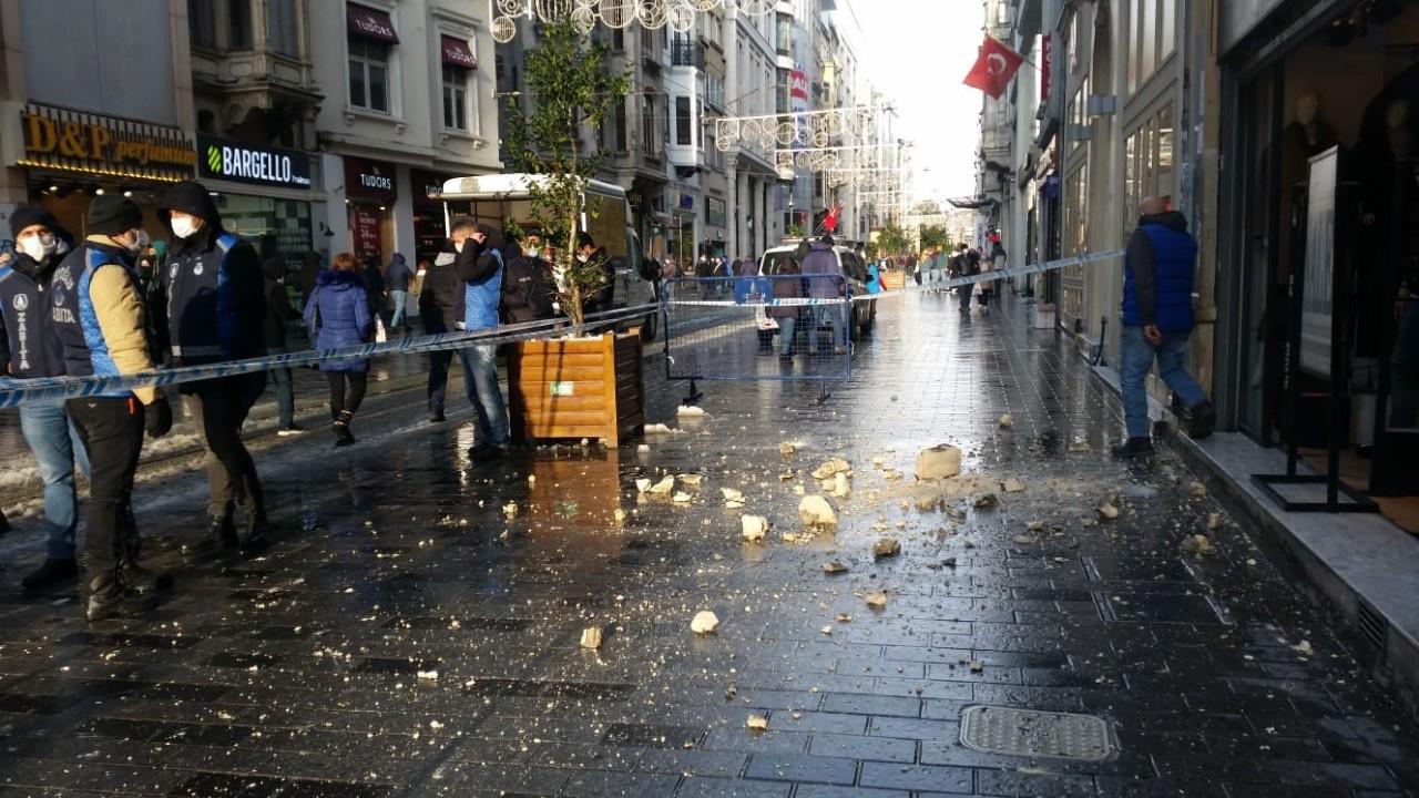 İstiklal Caddesi'nde faciaya kıl payı...