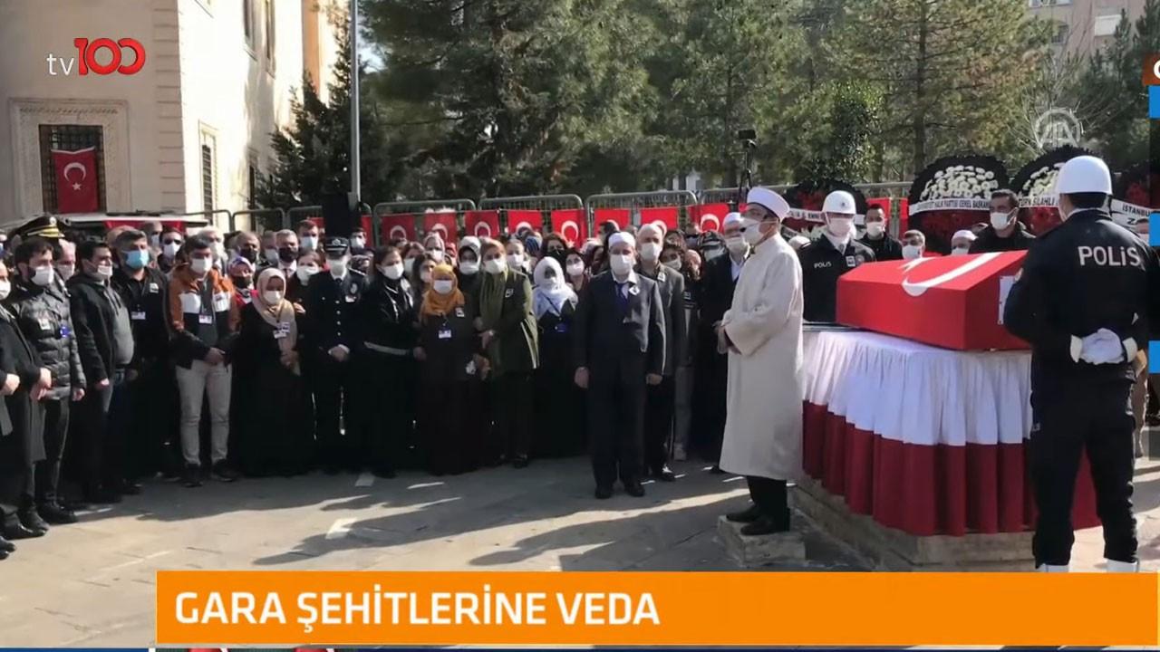 Polis memuru Vedat Kaya ebediyete uğurlandı