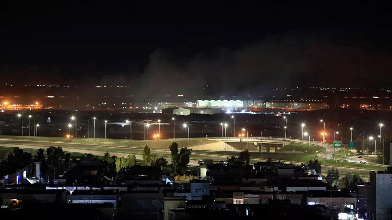 Erbil Havalimanı'na füze saldırısı