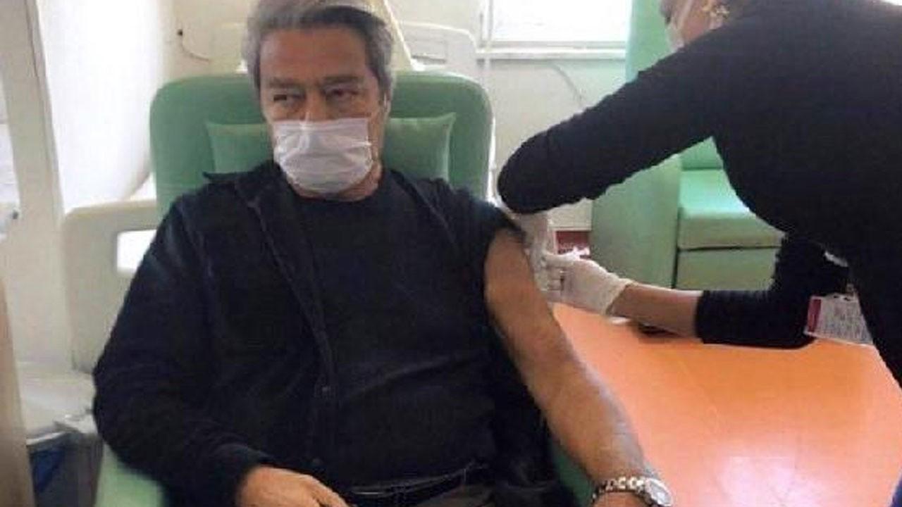 Kadir İnanır korona virüs aşısı oldu!