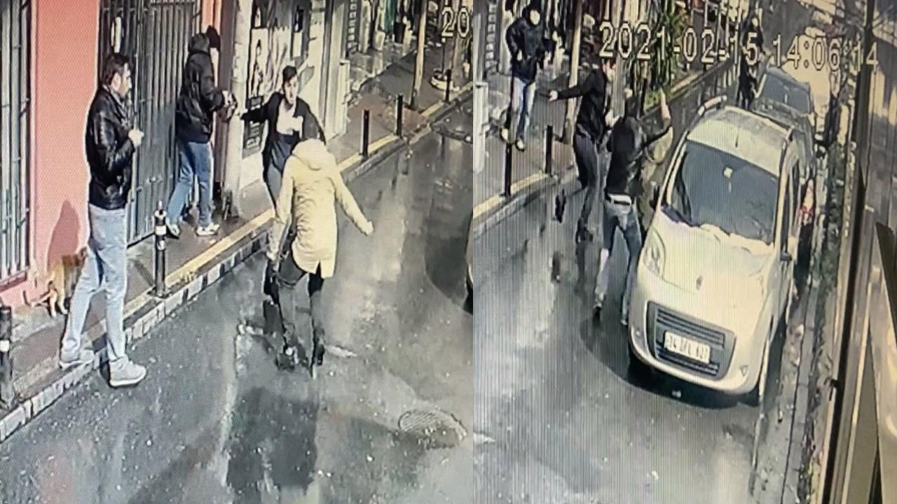 Ortaköy'de dehşet anları!
