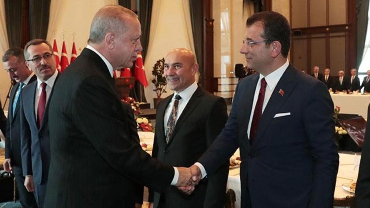 Erdoğan ve İmamoğlu'ndan sürpriz görüşme