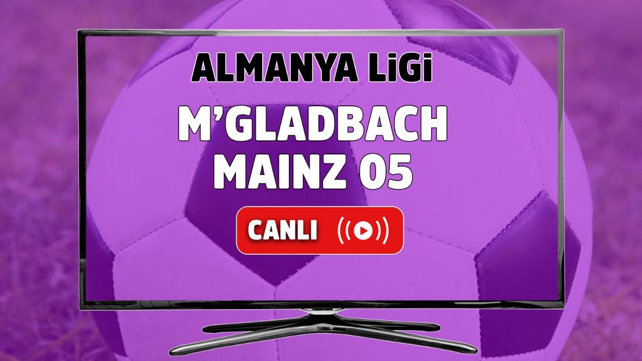 M'gladbach – Mainz 05 Canlı