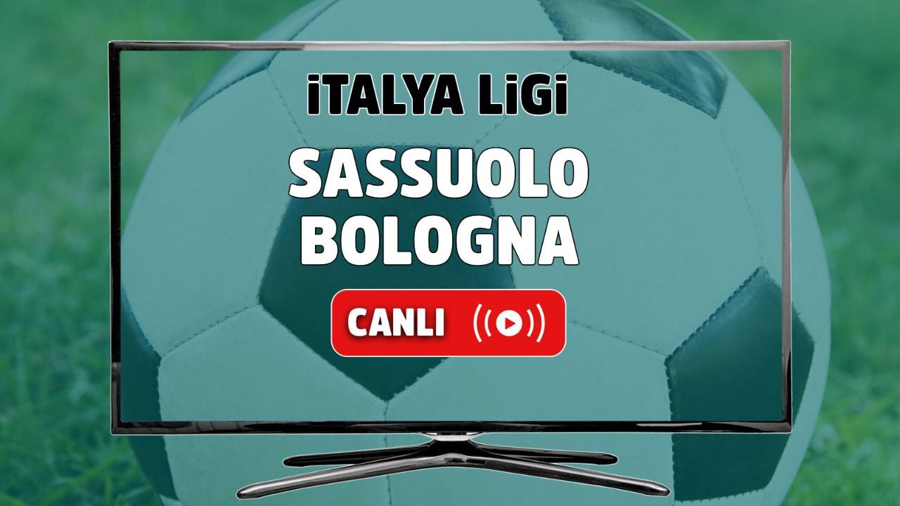 Sassuolo - Bologna Canlı