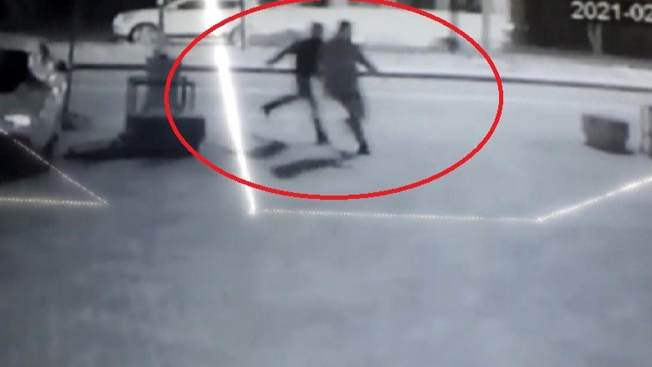 Güvenlik görevlisini bıçaklayarak hastanelik etti!