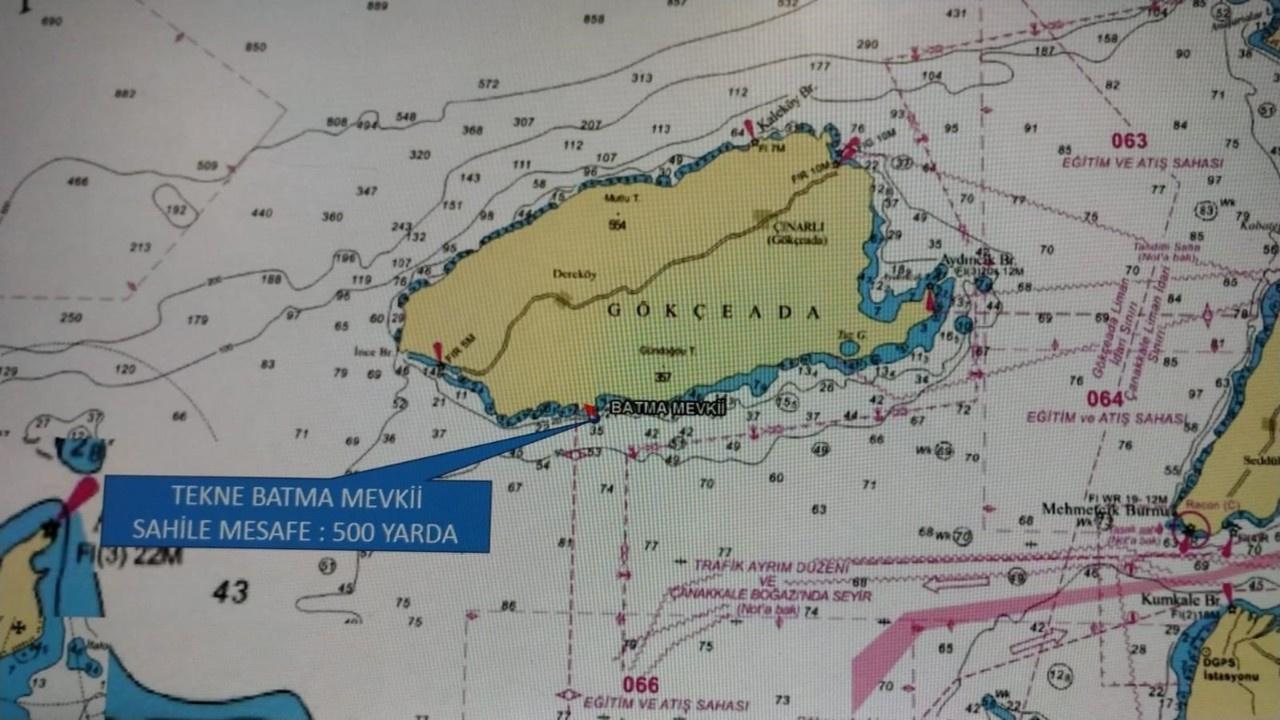Gökçeada'da tekne faciası: 3 kişi kayıp