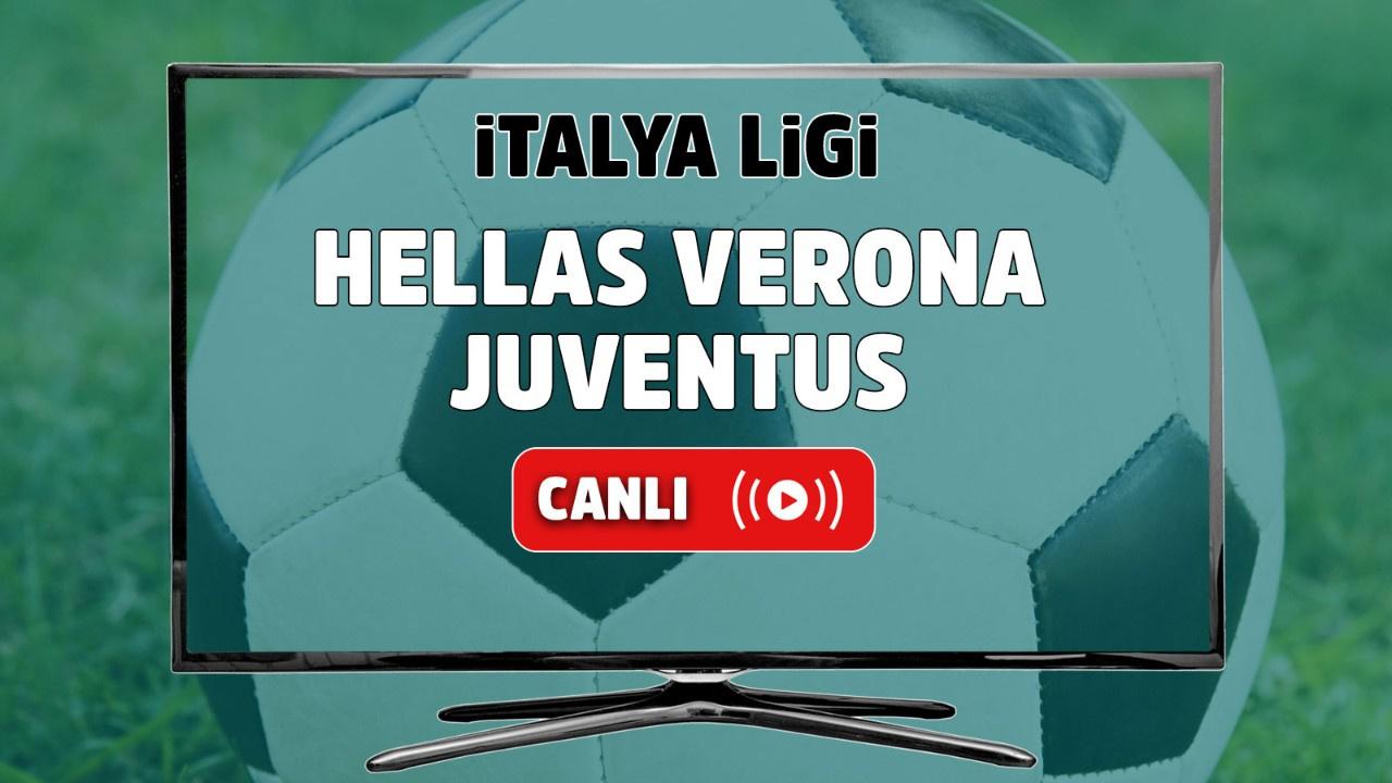 Hellas Verona - Juventus Canlı
