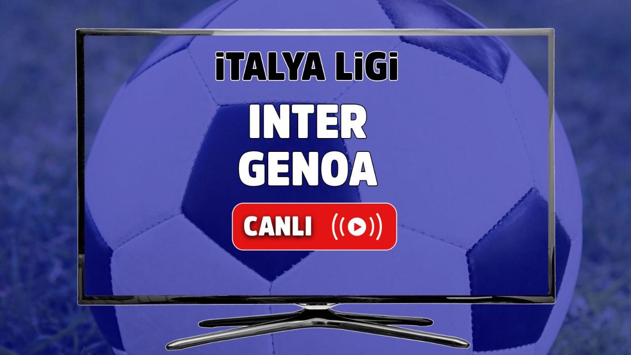 Inter - Genoa Canlı