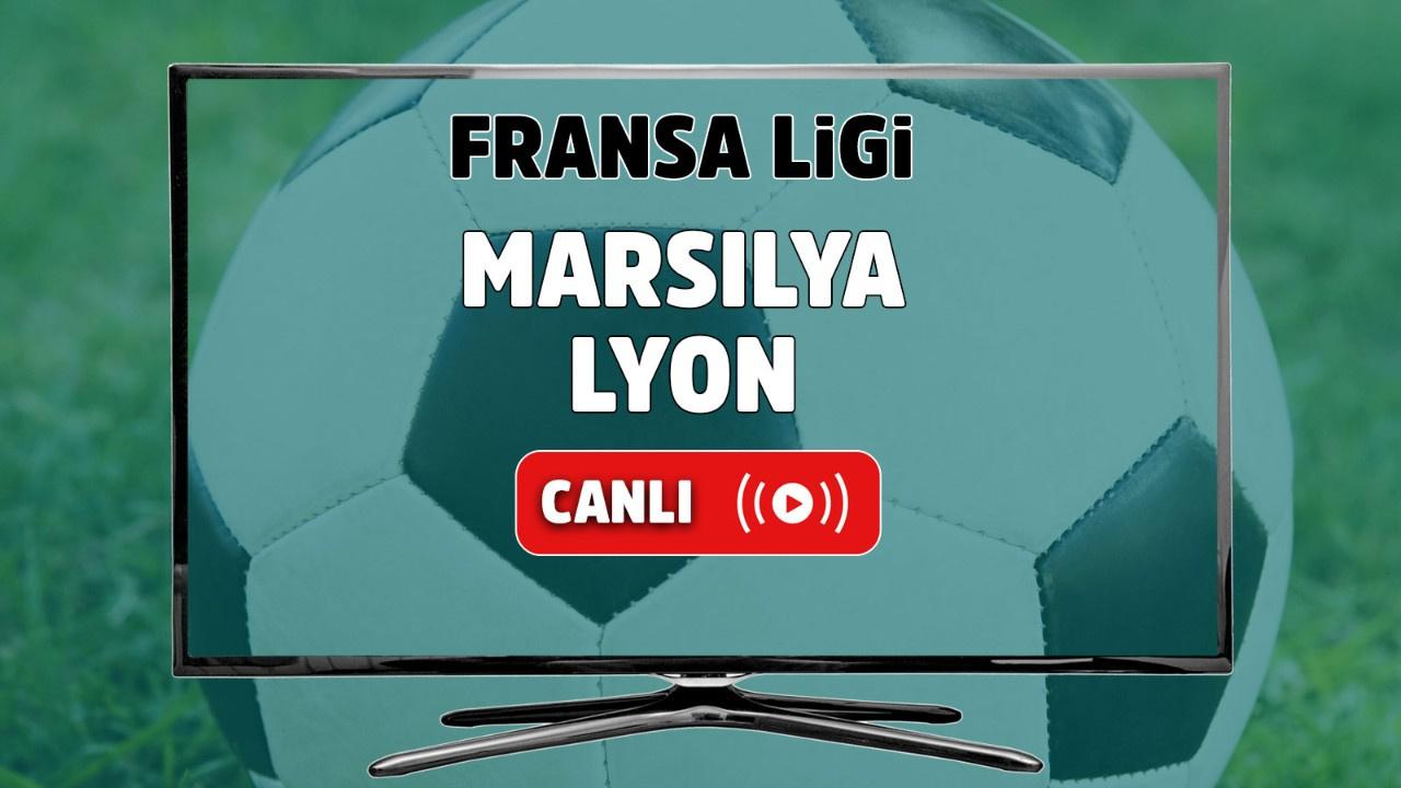 Marsilya - Lyon Canlı