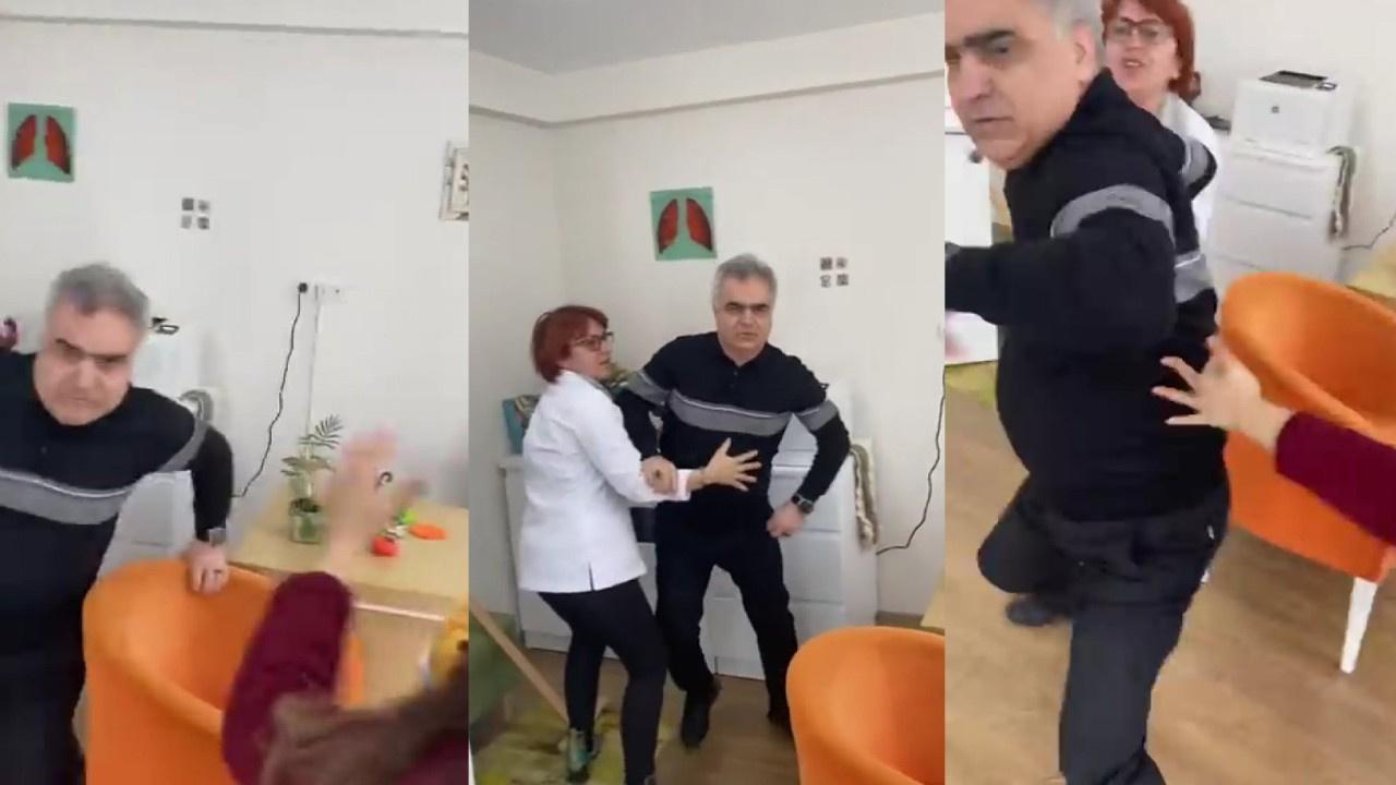 İzmir'de doktor hasta yakınına böyle saldırdı
