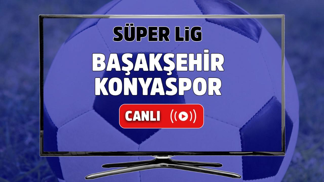 İstanbul Başakşehir – Konyaspor Canlı