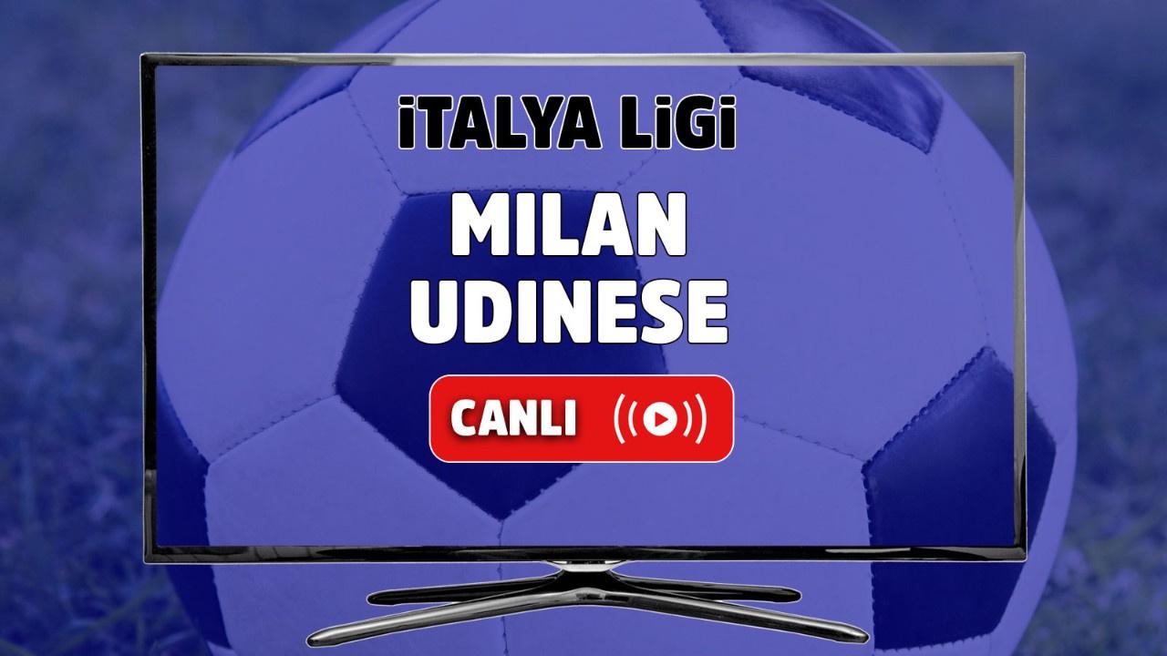 Milan - Udinese Canlı