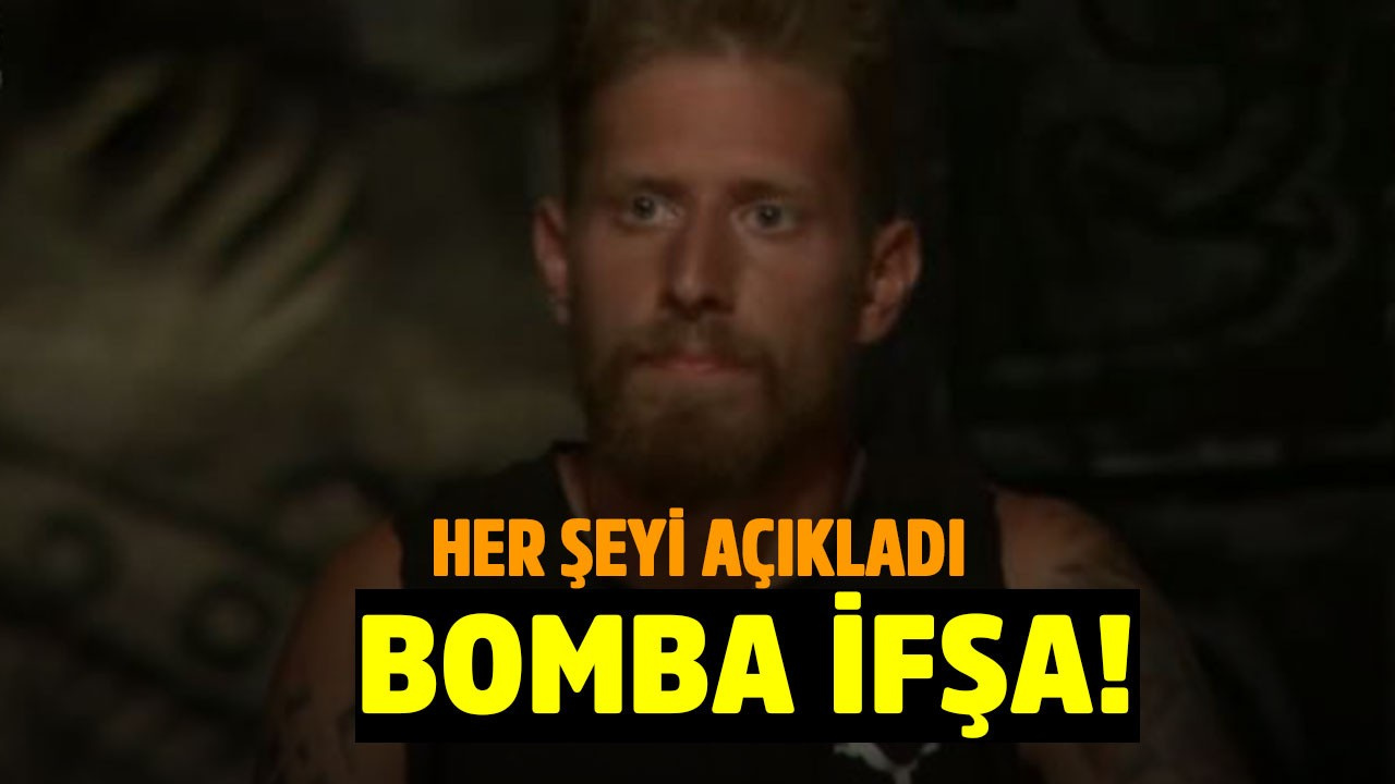 Survivor Çağman'dan bomba ifşa!