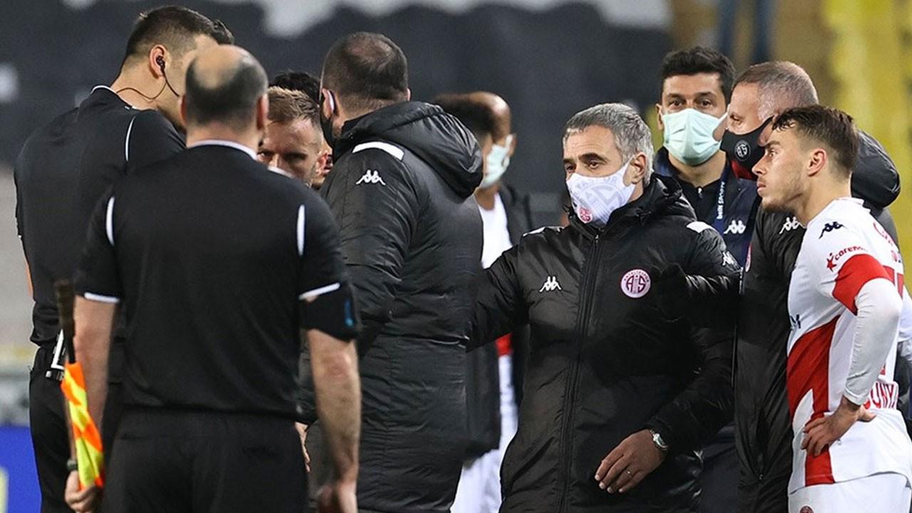 Antalyaspor'dan hakem isyanı