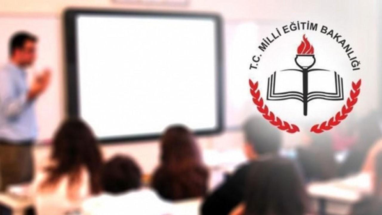 Milli Eğitim Bakanlığı'ndan son dakika açıklaması