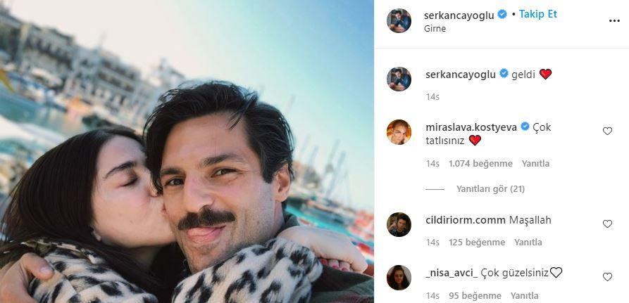Ünlü oyuncu Özge Gürel sevgilisi Serkan Çayoğlu'nun hasretine dayanamadı! - Sayfa 4