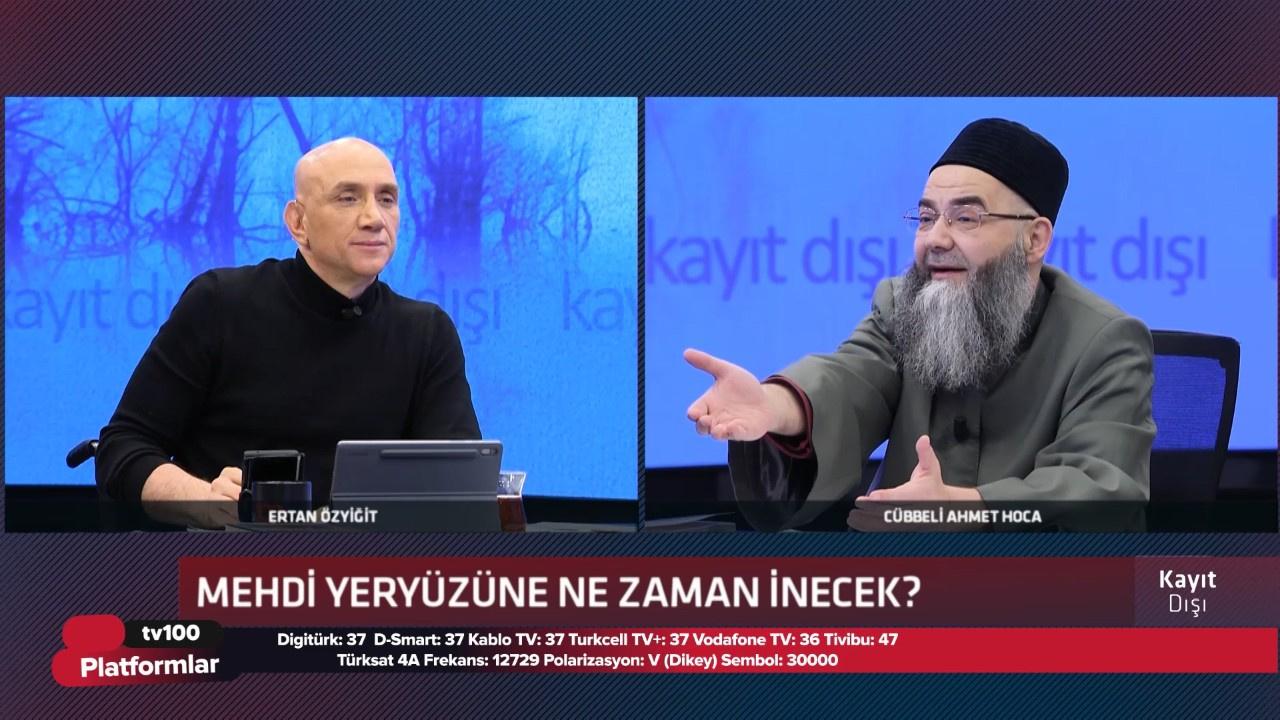 Cübbeli Ahmet Hoca - Ertan Özyiğit ile Kayıt Dışı