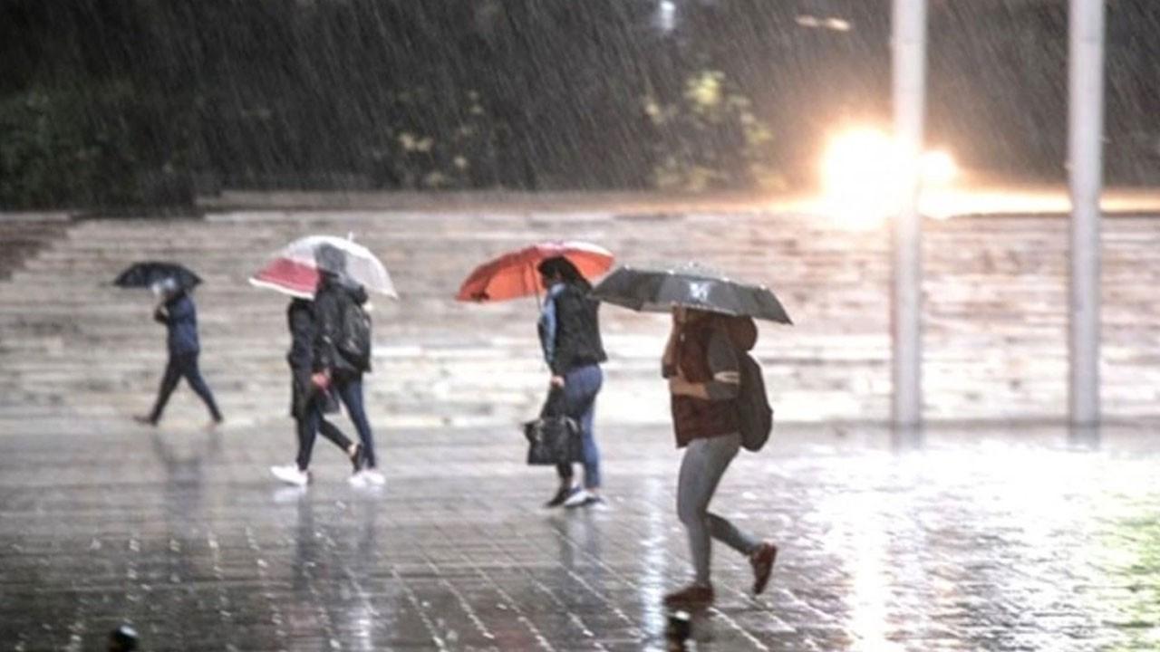 Meteoroloji uyardı! Bu bölgeler yağışa teslim!
