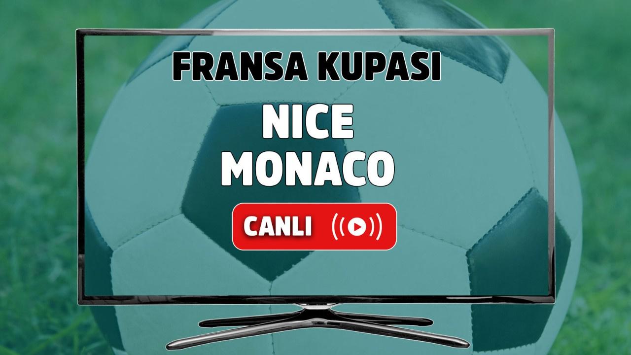 Nice - Monaco Canlı