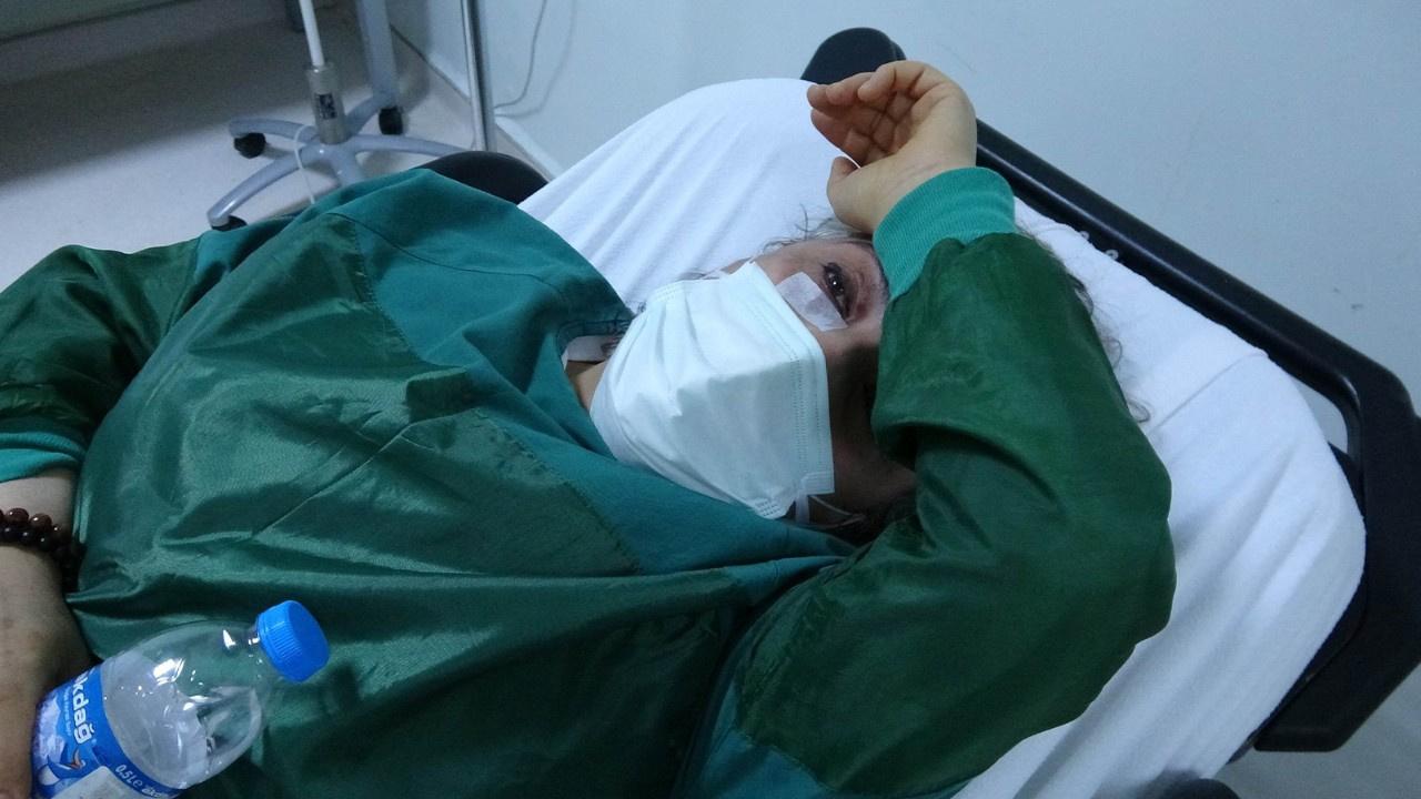 Saldırıya uğrayan sağlık çalışanı hastanelik oldu
