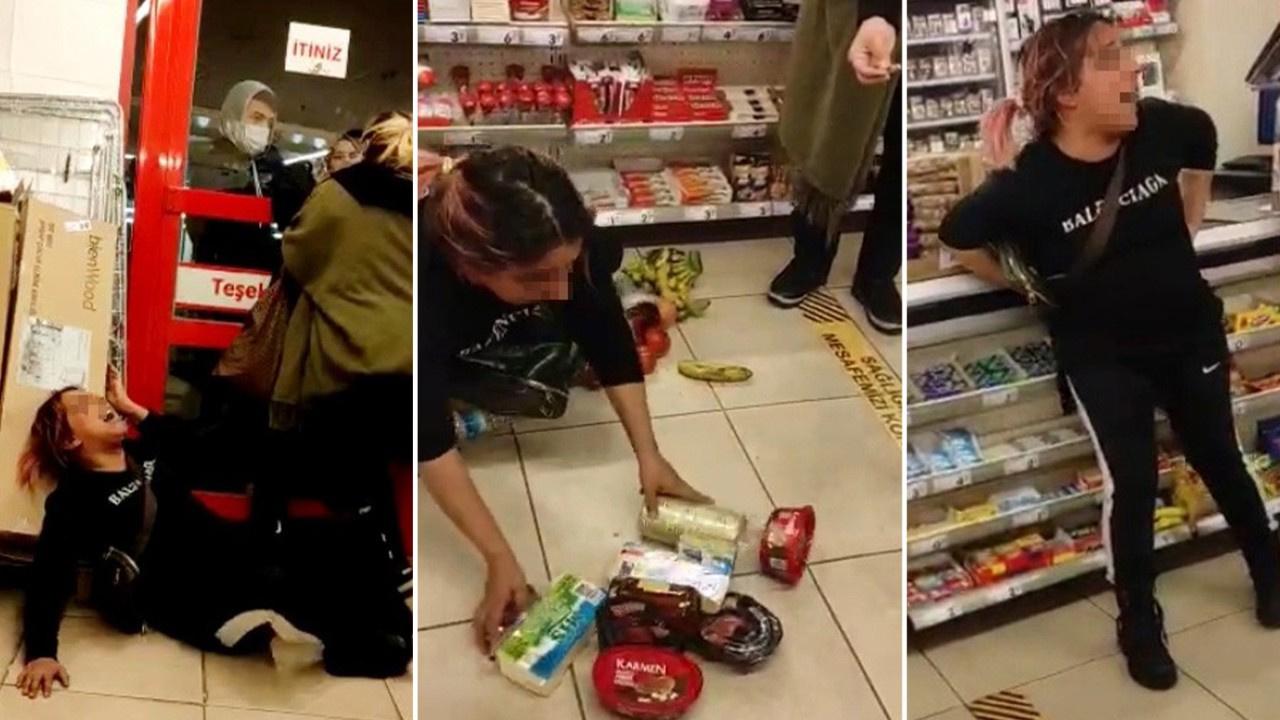 Hırsızlar yakalanınca ortalığı birbirine kattı
