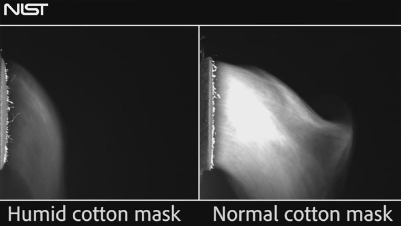 Pamuk maskeler Kovid-19'a karşı güvenli