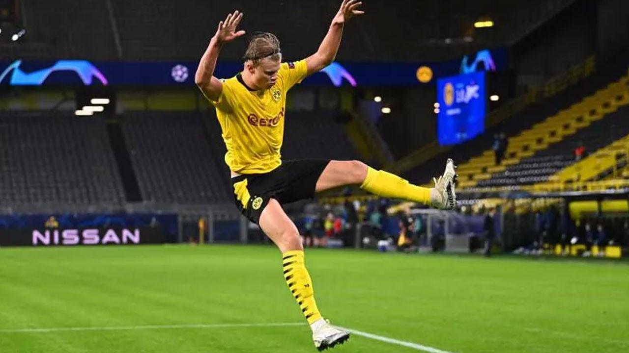 Dortmund, Halaand ile tür atladı