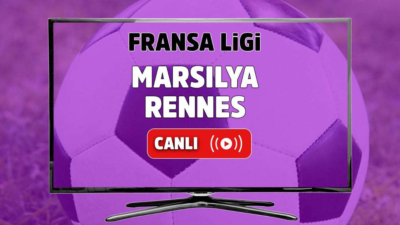 Marsilya - Rennes Canlı