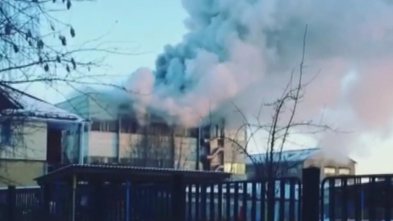 Rusya'da silah fabrikasında yangın