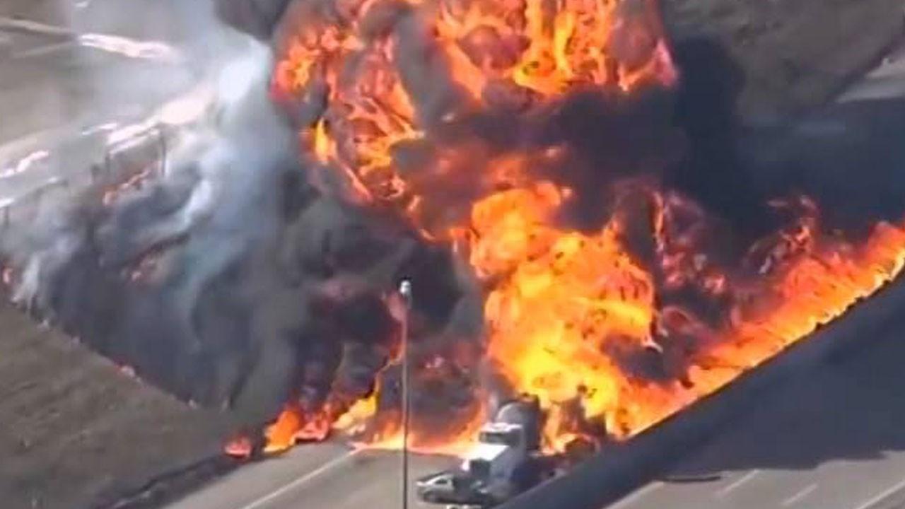Akaryakıt tankeri faciası!.. Çok sayıda ölen var!