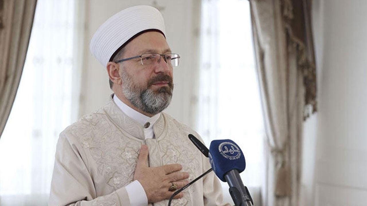 Diyanet İşleri Başkanı cami saldırısını kınadı