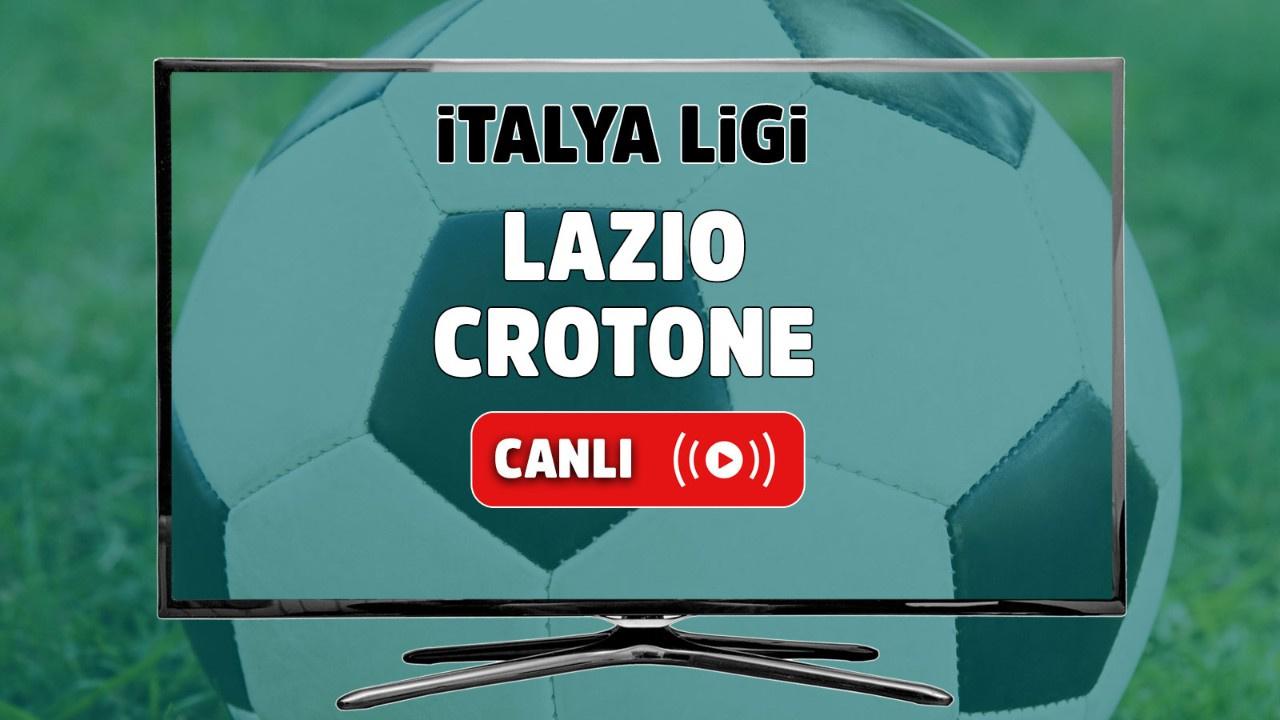 Lazio - Crotone Canlı