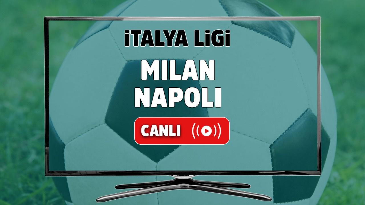 Milan - Napoli Canlı