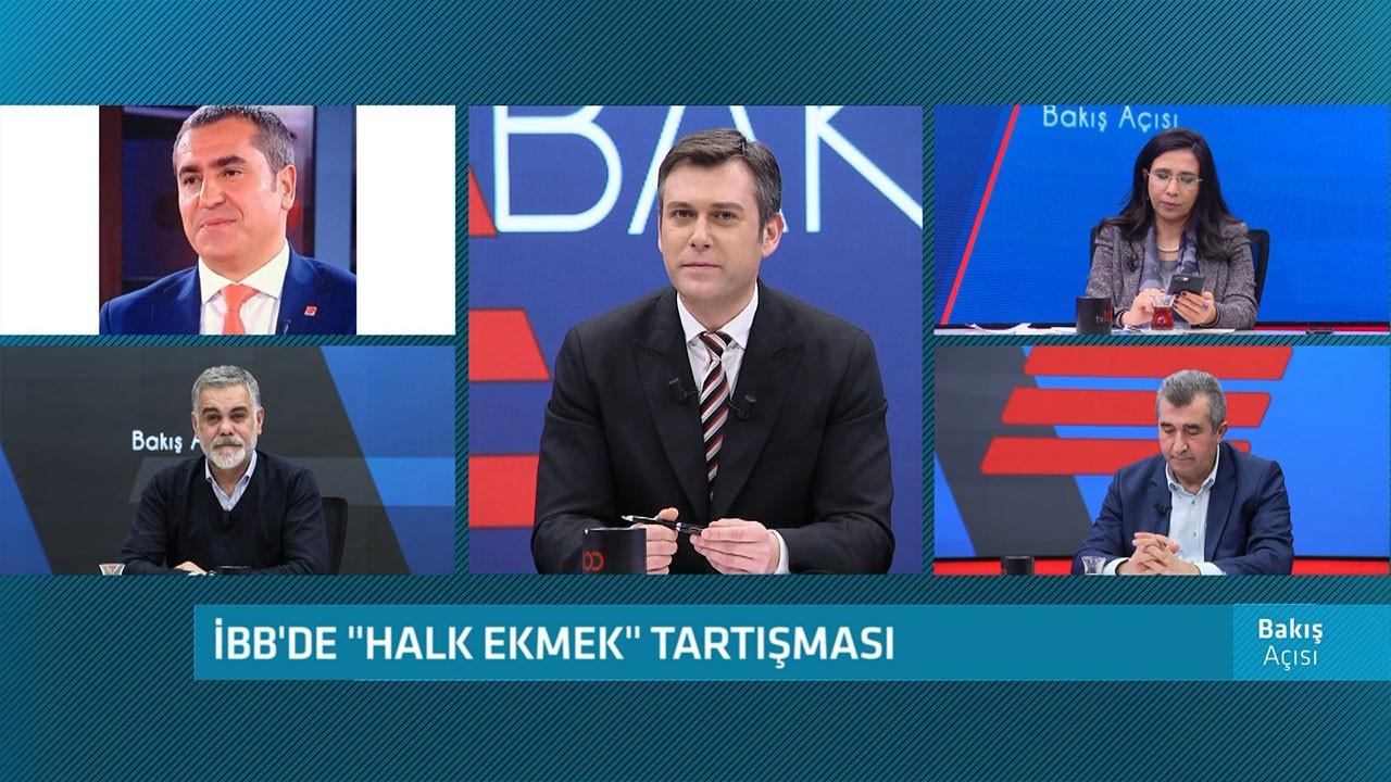 tv100'de Halk Ekmek tartışması