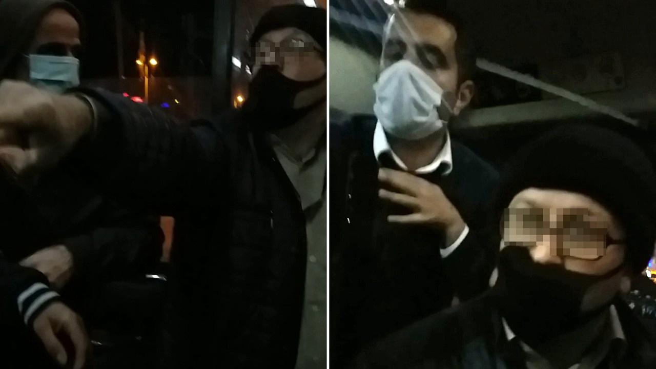İETT otobüsünde maske tartışması! İşte o anlar...