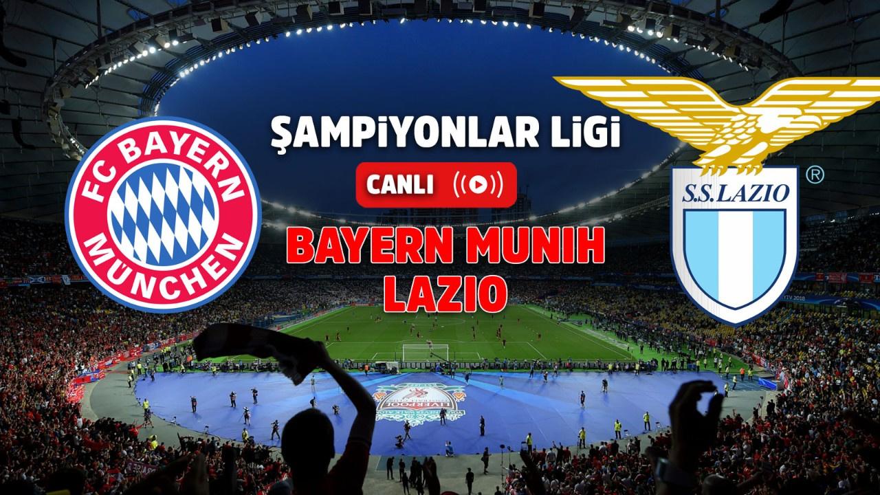 Bayern Münih – Lazio Canlı