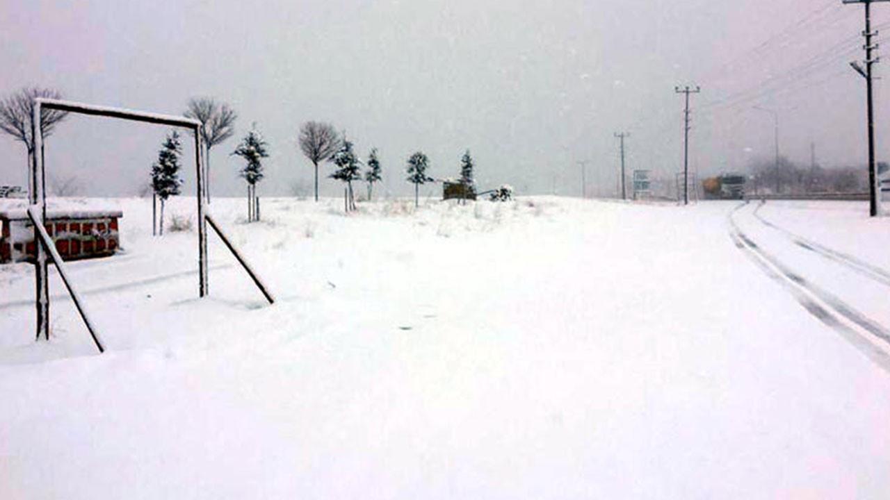 O ilimizde yoğun kar yağışı