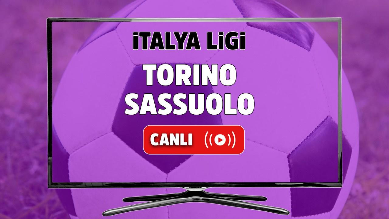 Torino - Sassuolo Canlı