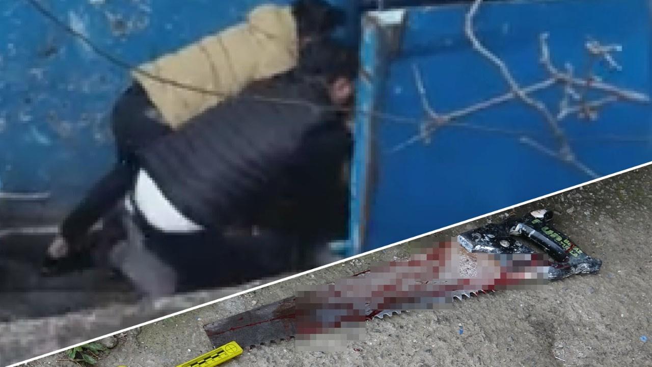 Pendik'te testereli kavga: 2 yaralı