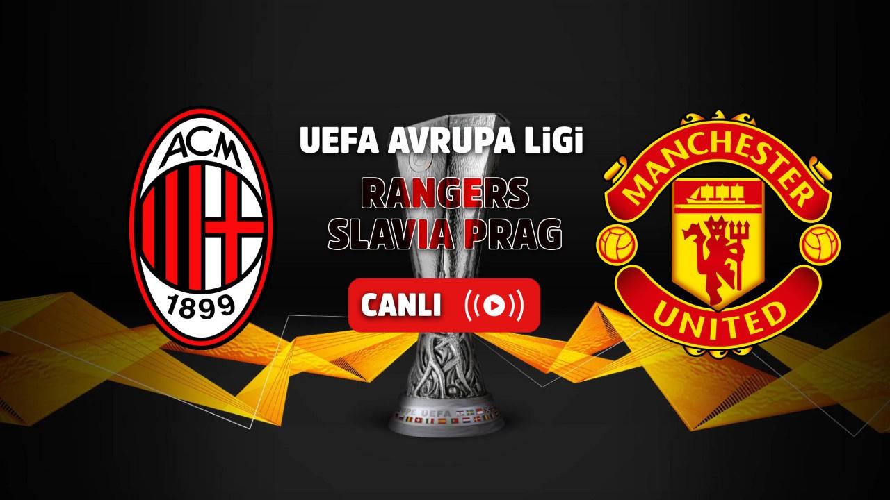 Rangers - Slavia Prag Canlı