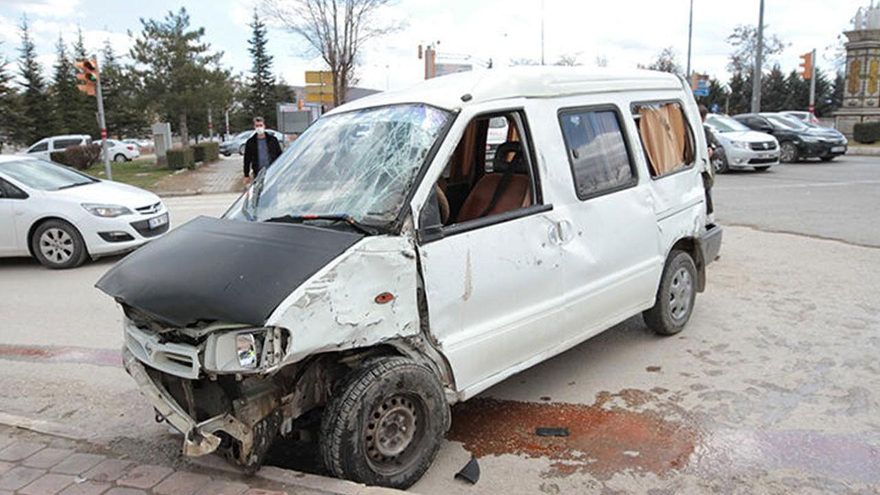 Elazığ'da trafik kazası: 8 yaralı