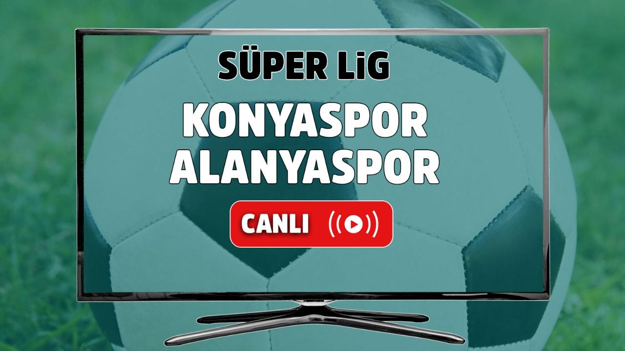Konyaspor – Alanyaspor Canlı